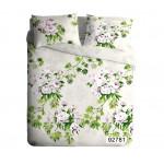 Комплект постельного белья ЭКОДОМ Флора, 2-спальный