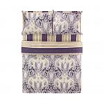 Комплект постельного белья CLASSIC BY T семейный 5 предметов, 145x200 см