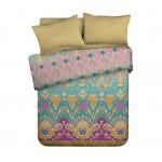 Комплект постельного белья ПРОМТОРГСЕРВИС Exotic хлопок семейный, 2-спальный