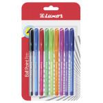 LUXOR Ручки шариковые FOCUS ICY 9 цветов