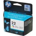 Картридж струйный HP №22(C9352AE) цветной