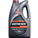 Моторное масло LUKOIL синтетическое Genesis Armortech 5W-30 А5В5, 4 л