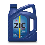 Моторное масло ZIC синтетическое X5 10W-40, 4 л