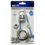 Водосберегающая насадка на кран KROFT + решётка для слива