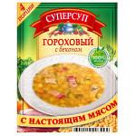 Суп гороховый с беконом 70 г