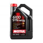 Мотрное масло MOTUL 6100 Syn-nergy 5W40, 4 л