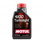 Моторное масло MOTUL 4100 Turbolight 10W40 1 л