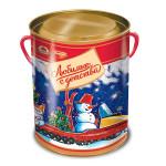 Новогодний подарок туба ЛЮБИМЫЕ С ДЕТСТВА! ж/б, 500г