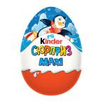 Шоколадное яйцо Макси KINDER , 100г