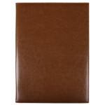Папка для меню коричневая INFOLIO