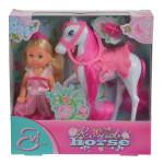 Кукла Еви на лошади