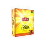 Чай черный LIPTON Royal Ceylon пакетированный, 100х2г