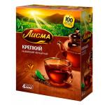 Чай черный ЛИСМА Крепкий 100х2г