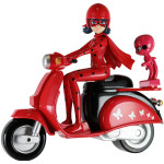 Фигурка LADY BUG на скутере