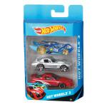 Набор HOT WHEELS 3 игрушечных автомобиля
