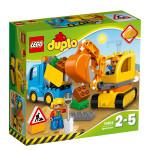 Конструктор LEGO DUPLO Грузовик и экскаватор 10812, 2-5 лет