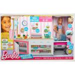 Набор BARBIE супер кухня с куклой