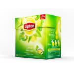 Чай LIPTON зеленый лимон и мята, 20х1,6г
