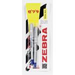 Ручка роллер Zeb-Roller DX5/DX7 ZEBRA, 2шт