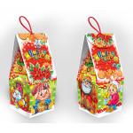 Новогодний подарок Домик доброты, картон 500 г