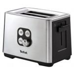 Тостер TEFAL Cube TT420D 900 Вт, серебристый