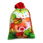 Новогодний подарок Свинка РАДОСТЬ, мешок ПОДАРИ 650 г
