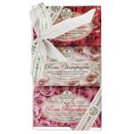 Подарочный набор Мыло Роза NESTI DANTE 3*150 г