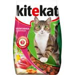 Сухой корм для кошек KITEKAT  с аппетитной телятинкой 1.9кг