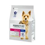 Полнорационный сухой корм для  взрослых собак мелких и миниатюрных пород PERFECT FIT с курицей 2.6 кг