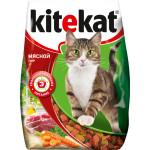 Сухой корм для кошек KITEKAT мясной пир 350 грамм