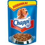 Влажный корм для собак CHAPPI Сытный мясной обед, Говядина по-домашнему 100 грамм