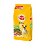 Сухой корм для взрослых собак мелких пород PEDIGREE Vital Protection с говядиной 13 кг