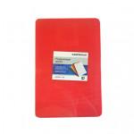 Доска разделочная, красная 45Х30 см