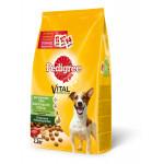 Сухой корм для взрослых собак мелких пород PEDIGREE Vital Protection с говядиной 2.2 кг