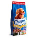Сухой корм для собак CHAPPI Сытный мясной обед, Мясное изобилие с овощами и травами 15 кг