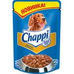 Влажный корм для собак Chappi Сытный мясной обед, Мясное изобилие, 100 грамм
