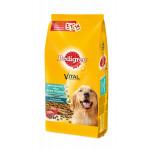 Сухой корм для взрослых собак всех пород PEDIGREE Vital Protection с говядиной 13 кг
