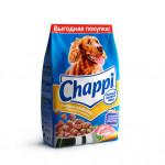Сухой корм для собак CHAPPI Сытный мясной обед, Мясное изобилие с овощами и травами 2.5кг