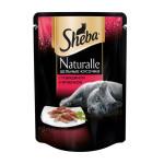 Питание для кошек с говядиной и ягненком NATURALLE SHEBA 80 г