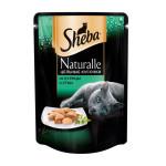 Питание для кошек SHEBA цельные кусочки с курицей и уткой 80 г