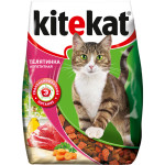 Сухой корм для кошек KITEKAT  с аппетитной телятинкой 350 грамм