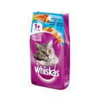 Сухой корм для кошек WHISKAS Вкусные подушечки с нежным паштетом, Аппетитный обед с лососем 1.9 кг
