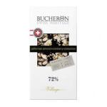 Шоколад BUCHERON с кусочками клюквы, 100г
