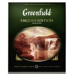 Чай GREENFIELD ENGLISH EDITION 2г*100