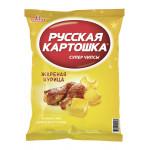 Чипсы РУССКАЯ КАРТОШКА жареная курица, 50 г