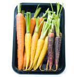 Мини морковь 3 цвета 200 г