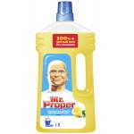 Моющая жидкость для полов и стен MR.PROPER Лимон, 1л
