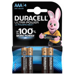 Батарейки DURACELL ULTRAPOWER AAA 4 шт