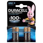 Батарейки DURACELL ULTRAPOWER AAA 4 шт