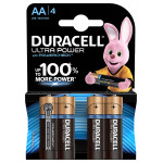 Батарейки DURACELL ULTRAPOWER AA 4 шт